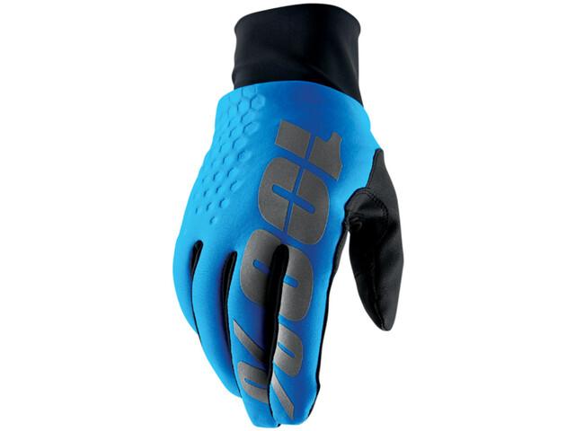 100% Hydromatic Brisker Cold Weather&Waterproof Guanti, blu/nero